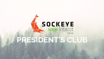 Sockeye Makes Sage Intacct Presidents Club