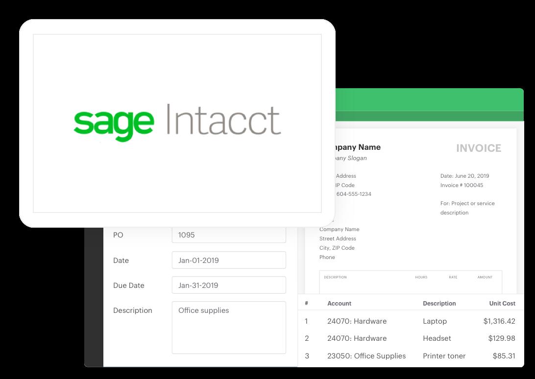 Sage Intacct Information Web